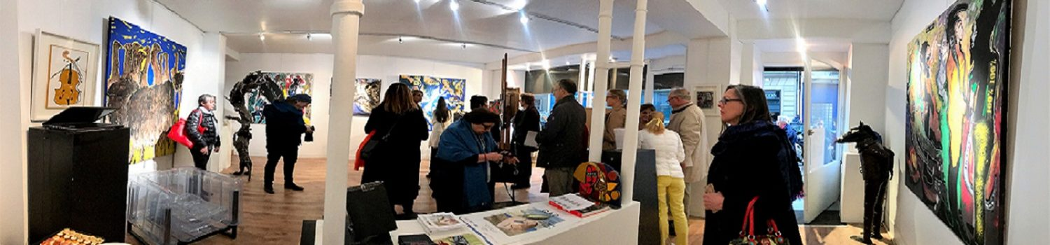 SOLO SHOW SOLY CISSE GALERIE CHAUVY