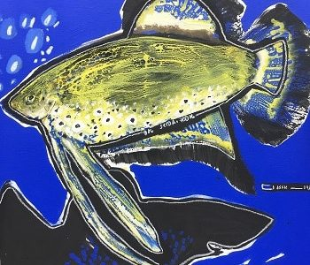 Soly Cisse -Poissons-galerie Chauvy (2)